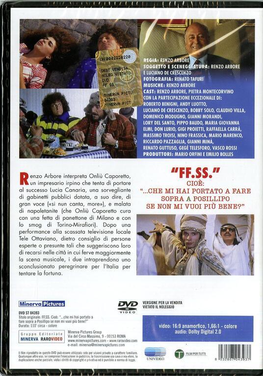 F.F.S.S., cioè... che mi hai portato a fare sopra Posillipo se non mi vuoi... di Renzo Arbore - DVD - 2
