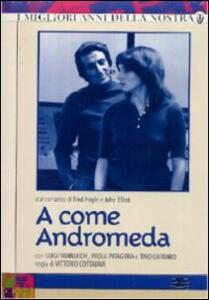 A come Andromeda (3 DVD) di Vittorio Cottafavi - DVD