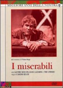 I Miserabili (5 DVD) di Sandro Bolchi - DVD