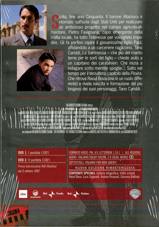 La Piovra 8. Lo scandalo (2 DVD) di Giacomo Battiato - DVD - 2