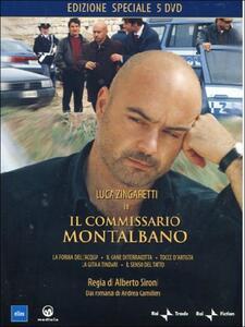 Il commissario Montalbano. Box 1 (5 DVD) di Alberto Sironi - DVD