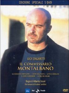 Il commissario Montalbano. Box 2 (5 DVD) di Alberto Sironi - DVD