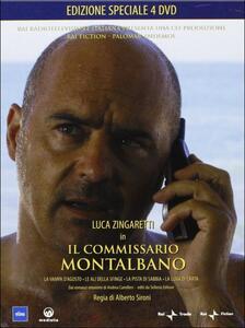 Il commissario Montalbano. Box 4 (4 DVD) di Alberto Sironi - DVD