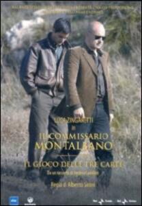 Il commissario Montalbano. Il gioco delle tre carte di Alberto Sironi - DVD