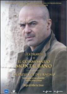 Il commissario Montalbano. La pazienza del ragno di Alberto Sironi - DVD