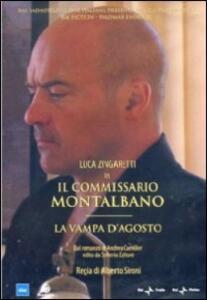 Il commissario Montalbano. La vampa d'agosto di Alberto Sironi - DVD