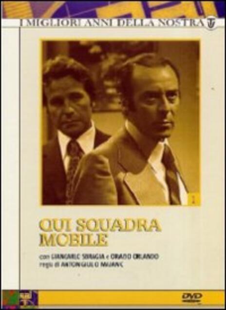 Qui squadra mobile. Serie 1 (3 DVD) di Anton Giulio Majano - DVD