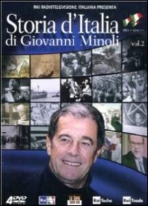 Storia d'Italia di Giovanni Minoli. Vol. 2 (4 DVD) - DVD
