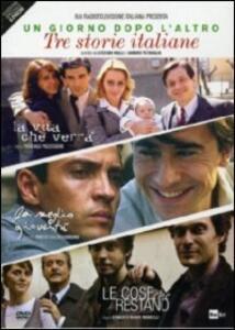 Un giorno dopo l'altro. Tre storie italiane (6 DVD) di Marco Tullio Giordana,Pasquale Pozzessere,Gianluca Maria Tavarelli