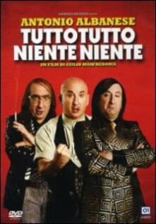 Tutto tutto niente niente di Giulio Manfredonia - DVD
