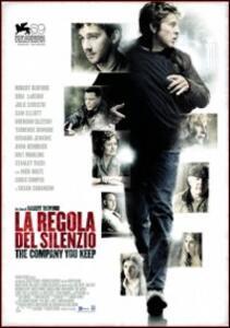 La regola del silenzio. The Company You Keep di Robert Redford - DVD