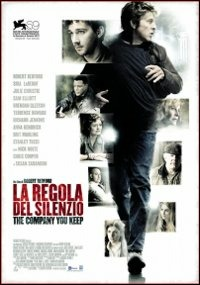 Cover Dvd regola del silenzio. The Company You Keep (DVD)