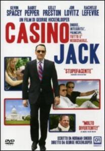 Casino Jack di George Hickenlooper - DVD