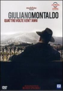 Giuliano Montaldo. Quattro volte vent'anni di Marco Spagnoli - DVD