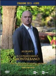 Il commissario Montalbano. Box 6. Stagione 2013 (4 DVD) di Alberto Sironi - DVD