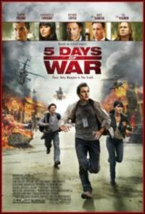 5 Days of War di Renny Harlin - Blu-ray
