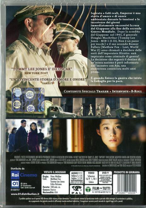 Emperor di Peter Webber - DVD - 2