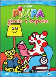 Pimpa gioca e impara di Enzo D'Alò - DVD