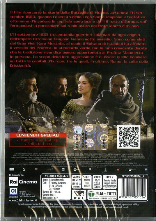 Undici settembre 1683 di Renzo Martinelli - DVD - 2
