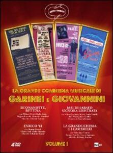Garinei e Giovannini. La grande commedia musicale. Vol. 1 (3 DVD) di Pietro Garinei,Sandro Giovannini