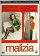 Cover Dvd Malizia