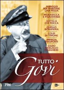 Tutto Govi (7 DVD) di Niccolò Bacigalupo,Gilberto Govi,Umberto Morucchio,Luigi Orengo,Ugo Palmerini,Emerico Valentinetti