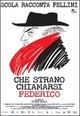 Cover Dvd Che strano chiamarsi Federico - Scola racconta Fellini