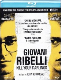Cover Dvd Giovani ribelli. Kill Your Darlings (Blu-ray)