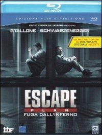 Cover Dvd Escape Plan. Fuga dall'inferno (Blu-ray)