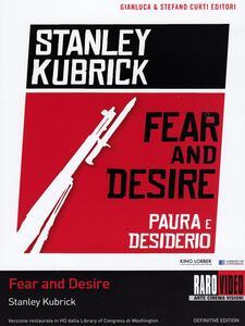 Paura e desiderio di Stanley Kubrick - DVD