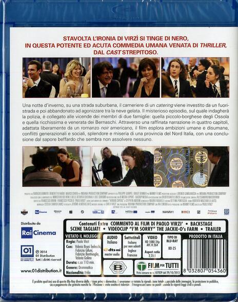 Il capitale umano di Paolo Virzì - Blu-ray - 2