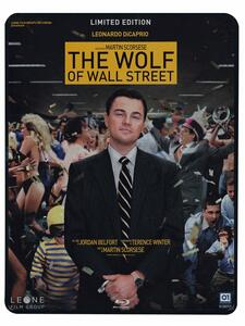 The Wolf of Wall Street (2 dischi + Steelbook)<span>.</span> Limited Edition di Martin Scorsese - Blu-ray