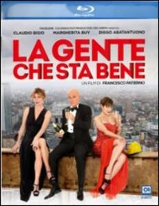 La gente che sta bene di Francesco Patierno - Blu-ray