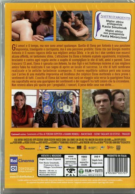 famoso marchio di stilisti taglia 7 servizio eccellente Allacciate le cinture - DVD - Film di Ferzan Ozpetek ...