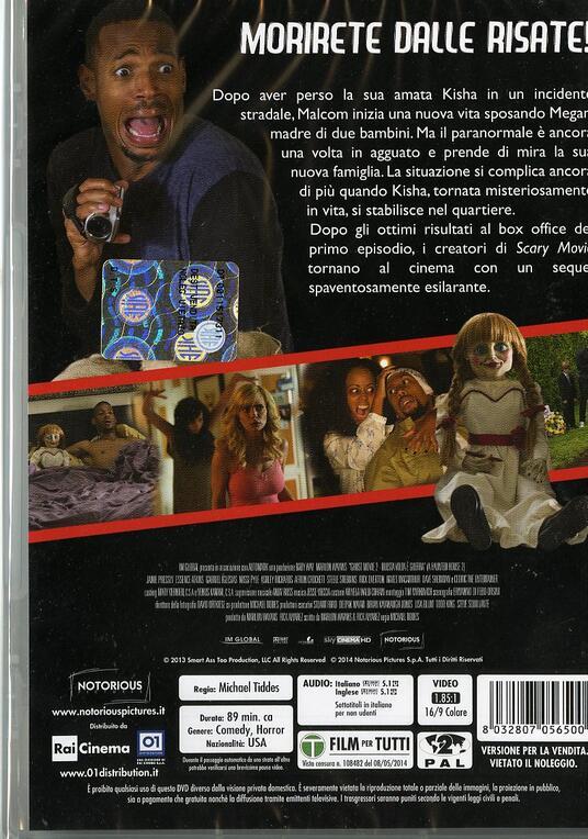 Ghost Movie 2. Questa volta è guerra di Michael Tiddes - DVD - 2