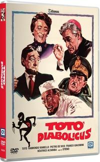 Cover Dvd Totò diabolicus (DVD)