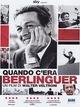 Cover Dvd Quando c'era Berlinguer