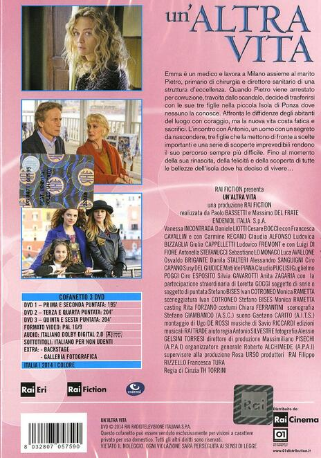 Un' altra vita di Cinzia Th Torrini - DVD - 2