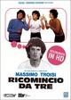 Cover Dvd DVD Ricomincio da tre