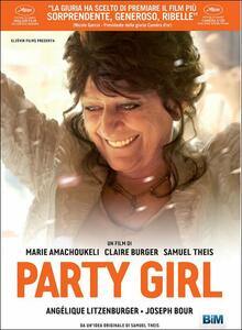Party Girl di Marie Amachoukeli,Claire Burger,Samuel Theis - DVD