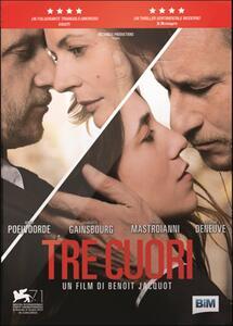 Tre cuori di Benoît Jacquot - DVD