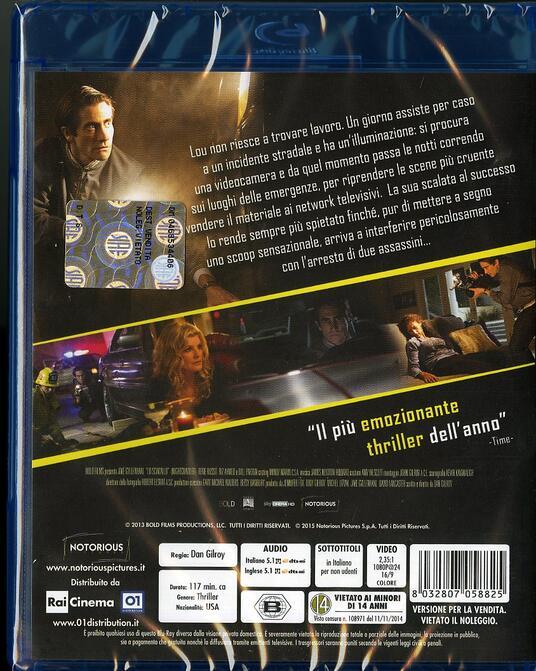 Lo sciacallo. Nightcrawler di Dan Gilroy - Blu-ray - 2