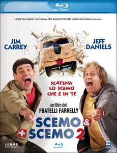 Scemo & + scemo 2 di Peter Farrelly,Bobby Farrelly - Blu-ray