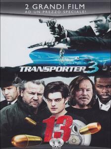 Transporter 3. 13. Thirteen (2 DVD) di Géla Babluani,Olivier Megaton