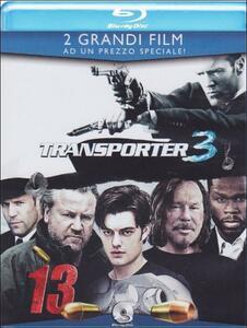 Transporter 3 - 13. Thirteen (2 Blu-ray) di Géla Babluani,Olivier Megaton