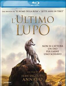 L' ultimo lupo di Jean-Jacques Annaud - Blu-ray