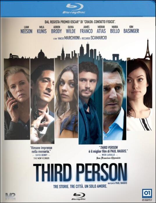 Third Person di Paul Haggis - Blu-ray