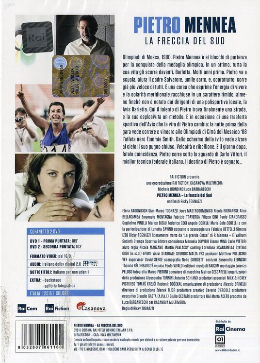 Pietro Mennea. La freccia del sud (2 DVD) di Ricky Tognazzi - DVD - 2