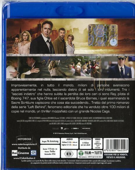 Left Behind. La profezia di Vic Armstrong - Blu-ray - 2