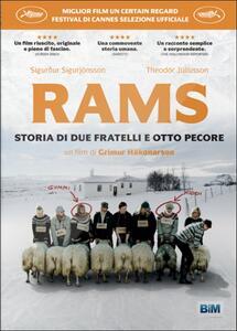 Rams. Storia di due fratelli e otto pecore di Grímur Hákonarson - DVD